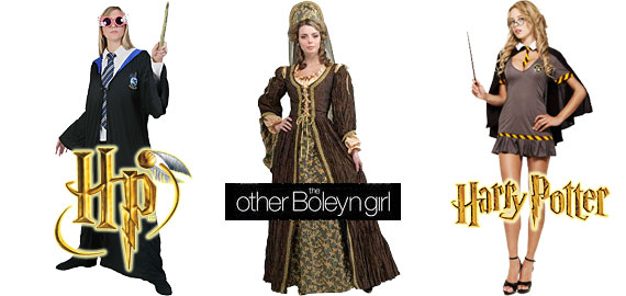 NEW Popular 2011 Costumes for Women: Dress up as LUNA LOVEGOOD or HERMIONE GRANGER from Harry Potter, or perhaps an ANNE BOLEYN period costume.